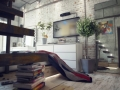 casual-Loft-interior-design